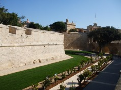 Section of outer wall at Mdina