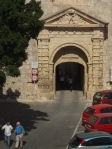 Gateway in the Mdina outer wall