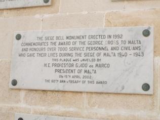 Siege Bell Plaque