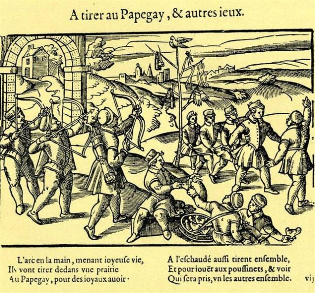 Jeu du papegay. Anonymous. Public Domain