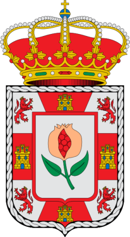 The Granada Coat of Arms. Wikimedia Commons: Erlenmeyer