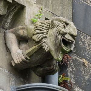 Paisley Abbey Gargoyle. Author: Colin. Wikimedia Commons