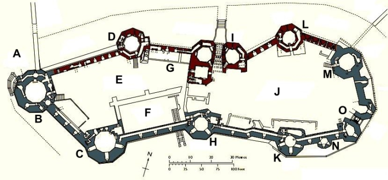 Caernarfon_Castle_plan_labelled