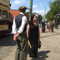 WW1 Day at Crich Tramway Museum