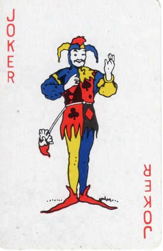 Jester-Joker Card001 by GoShaw. Creative Commons