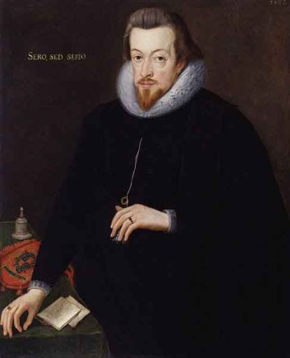 Robert Cecil, 1st Earl of Salisbury. National Portrait Gallery. Wikimedia Commons. Public Domain