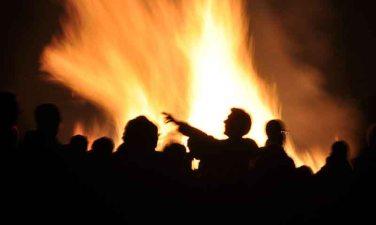 Organised bonfire