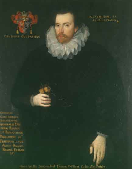 Sir Edward Coke Author: attributed to Thomas Athow, after Unknown artist, after Cornelius Johnson. Public Domain. Wikipedia Commons