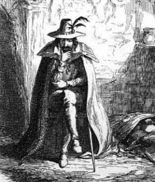 Gut Fawkes by Cruikshank