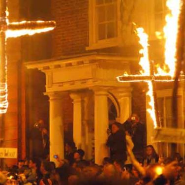 Bonfire Night in Lewes, Sussex. Author: Perter trimming. geograph.org.uk