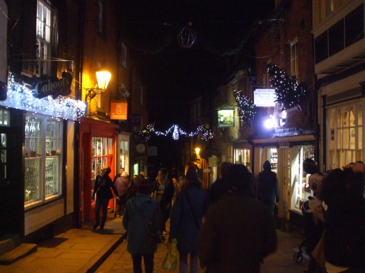 Top of Steep Hill