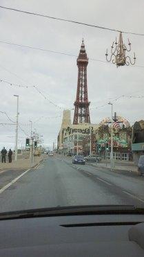 204 Heading north along the Blackpool Promenade