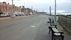 208 Deserted Blackpool Promenade