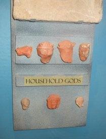 Fragments of household gods