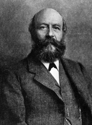 John Cadbury, founder of the Cadbury chocolate making company. Photo taken prior to 1889. Public Domain.
