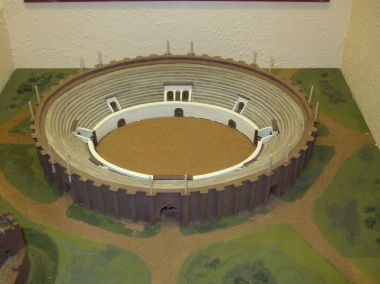 Model of ampitheatre