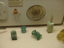 Typical Roman Glassware (Green in particular)