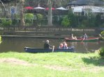 Rowing on the Nidd