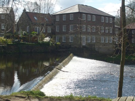 Weir and Old Cotton Mill