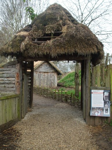 055 Entrance to Viking Village