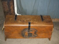 Viking storage chest
