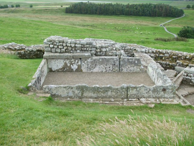 286 Water tank at Housesteads