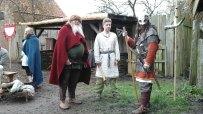 Viking on guard duty