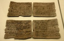 Letter from Octavius to Candidus concerning supplies of wheat, hides and sinews. Photographer: Michel wal. Creative Commons