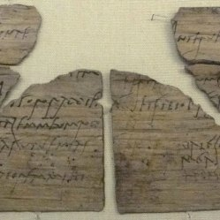 Letter from Claudia Severa to Sulpicia Lepidina.