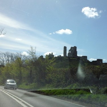 160 Corfe Castle.