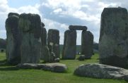 A trilithon at Stonehenge