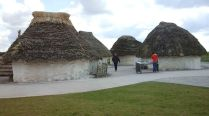 Reconstructed village. 2