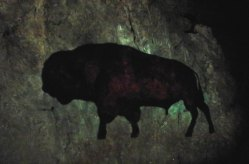 Cave Painting - Cox's Cave