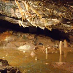 Gough's Cave Stactites and Stalagmites 1