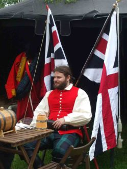 Scots who fought for the English Crown +
