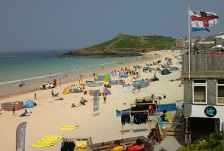 St. Ives Beach
