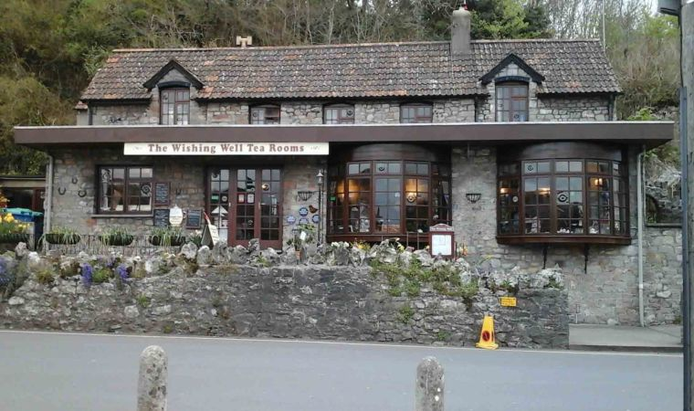 Wishing Well Tea Room (View from road 3 +