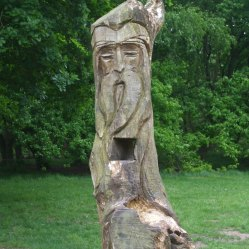 Wooden Carvings 6. Face 2