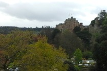 Castle view from near to the kiln