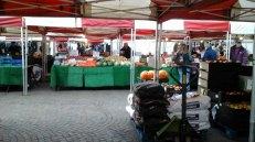 New 'cobbles' in the Market Square