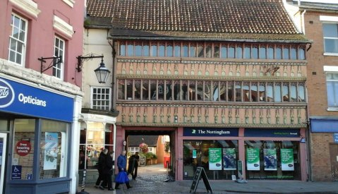 Old Building In Market Place