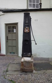 Old water pump on the edge of Market Square