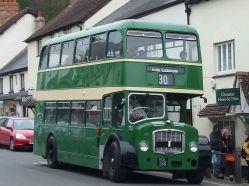 Public bus in Dunster