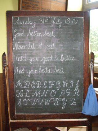 Blackboard in the Schoolroom