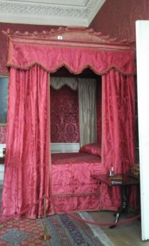 Four Poster Bed in the Hall