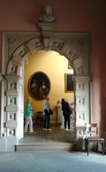 Ornate arched doorway
