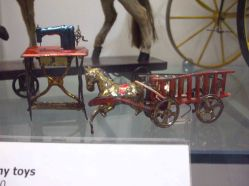Small toys like this were sold for a penny each at the beginning of the 20th century, often by street traders