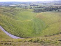 View of 'The Manger' from the White Horse. Author: Frasmacon. Creative Commons