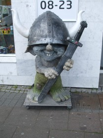 A cheeky little Viking troll in Reykjavik