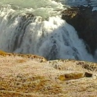 Gullfoss Waterfall with a Shake (Subtitle: I Really Need a Tripod!)